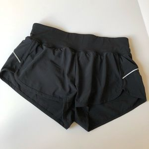 NWOT ZELLA Black Basic Running Shorts